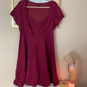 COPY - Burgundy mid dress from torrid